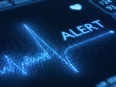 EKG Flat Line Alert